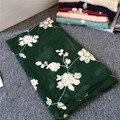 Japanese art fresh Crochet long cotton scarf embroidery embroidered retro Sen female super sunscreen shawl qc