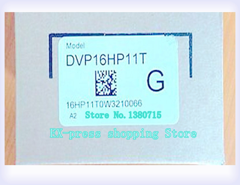 New Original DVP16HP11T PLC Digital module EH2 series 24VDC 8DI 8DO Transistor output new original dvp04ad h2 plc analog module eh2 series 24vdc 4ai