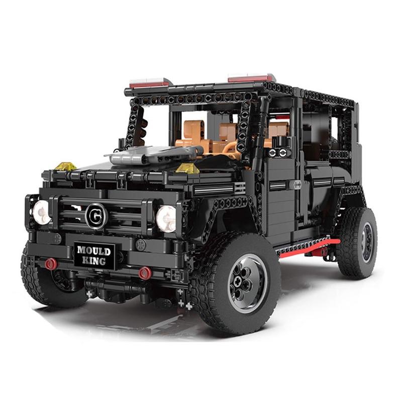 RC samochodów 13070 kompatybilny z Technic serii MOC 2425 Banz G500 AWD Wagon klocki klocki zabawki dla dzieci Gfits w Klocki od Zabawki i hobby na  Grupa 2