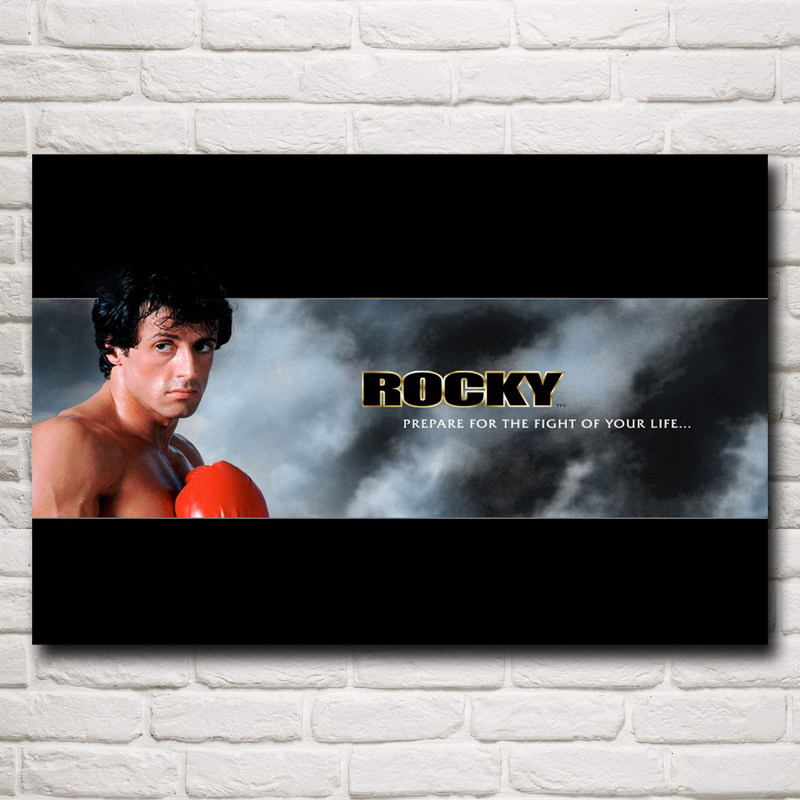 Inspirational Quotes Motivation: Rocky Balboa:Best Boxing Motivational Quotes Silk Fabric