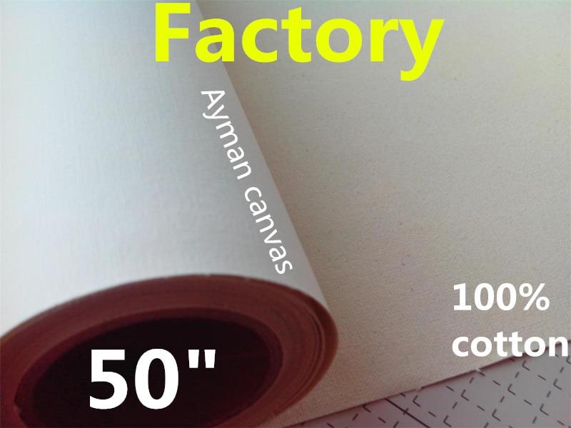 50in Inkjet Printing Canvas (pigment Matt 380g 100% Cotton)