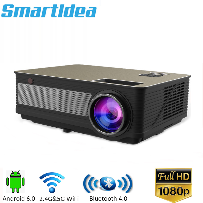 2018 Newest LED86plus 1280x800 HD Projector 5000lumens Android 6 0 1 Optional Bluetooth AC3 LED 3D