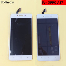 High quality For OPPO A37 a37M 5 LCD Display+Touch Screen+tools Digitizer lcd screen Assembly Replacement Give silicon case