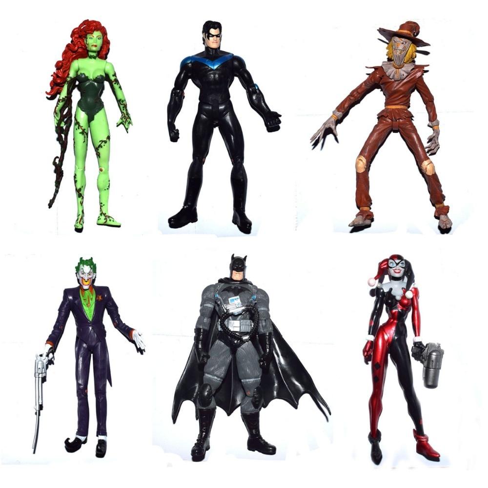 "DC Direct Comics Superhero Batman The Joker Custom 7/"" Loose Action Figure"