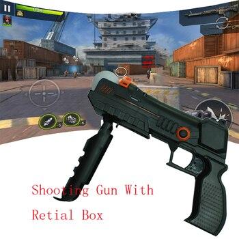 73400ce5fe033 PS3 Hassas Atış El Tabancası Tabanca için Sony PlayStation 3 Move Hareket  Kontrol Kontrolör Tüfek Çekim Için Aksesuar