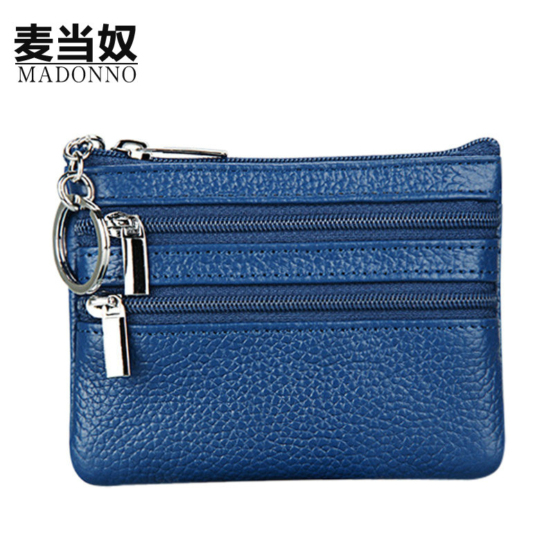 Genuine Leather Coin Purse Women Small Wallet Change Purses Money Bags Children's Pocket Wallets Key Holder Mini Zipper Pouch-5 vintage women short leather wallets stylish wallet coin card pocket holder wallet female purses money clip ladies purse 7n01 18