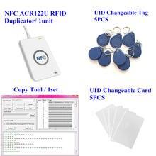 Nfc считыватель acr122u записывающее 1356 МГц rfid Дубликатор