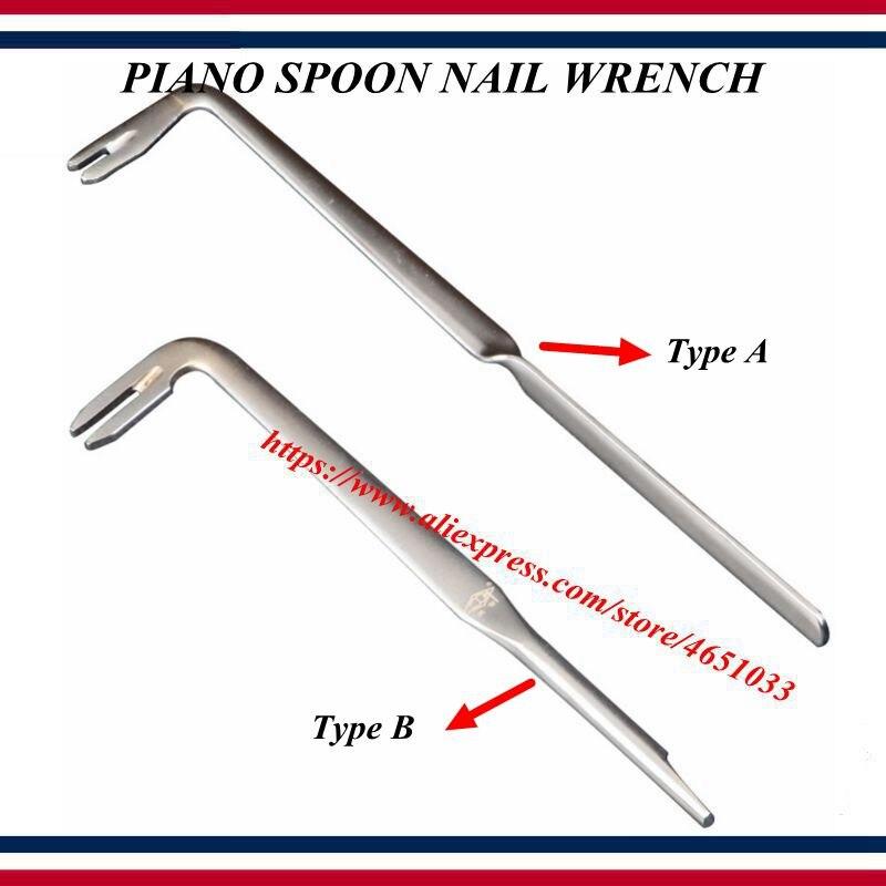 Piano Tuning Repair Tool    -    Percussion Machine Repair Adjustment Spoon Nail Wrench    -    Piano  Tools