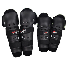 4 pieces set Hot Sale Outdoor Motorcycle Protective kneepad Motocross Protector Racing Knee Elbow Gear adjustable