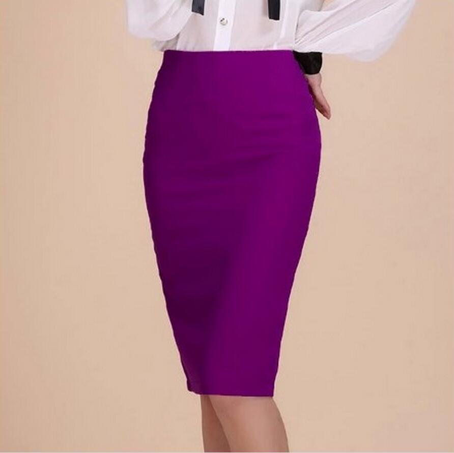 Purple Pencil Skirt Promotion-Shop for Promotional Purple Pencil ...
