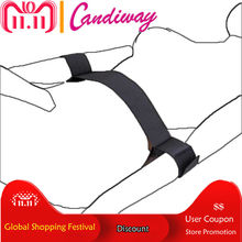 fancy Flirt Toys Nylon sexy Restraints Bondage Sex Games Hand Cuffs with waist Sex Toys For Couples Erotic Adult Products shop