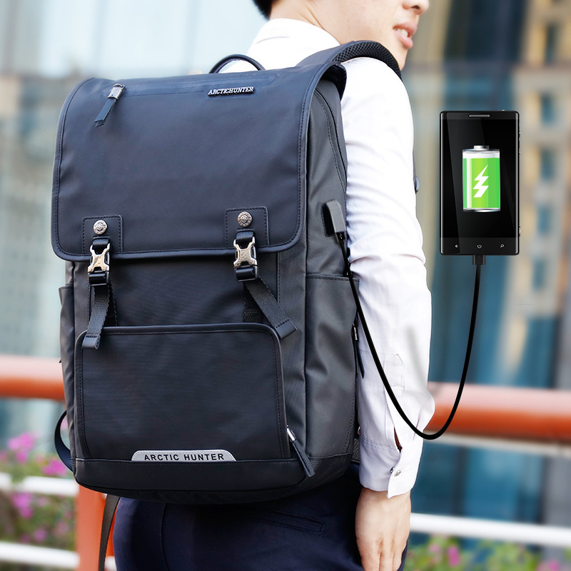 USB charging Backpack 15.6 inch laptop bag men Large capacity Oxford waterproof notebook Computer Backpacks male student bag men backpack student school bag for teenager boys large capacity trip backpacks laptop backpack for 15 inches mochila masculina
