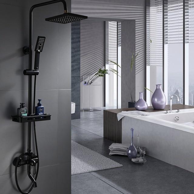 Bathroom Shower Faucet Set Bathtub Faucets Mixer Tap Bath Shower ...