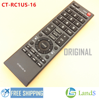 Remote Control CT-RC1US-16 For TOSHIBA LED TV 28L110U, 32L110U, 40L310U, 43L310U, 49L310U, 55L310U, 65L350U, 43L420U, 32L220U image