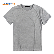 Covrlge T Shirt Men 2017 New Arrival Summer Fashion Casual Short-sleeved Slim Men T-shirt Brand Casual T-shirts Tops Tees MTS408