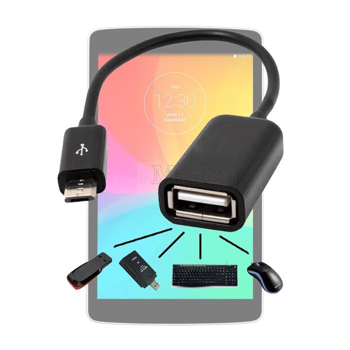 Micro USB Host OTG Adapter Cable for LG G4 / G3 / G2 / G flex / G Pro 2 USB 2.0 OTG Adapter