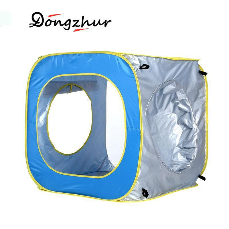 Children Waterproof Pop Up Awning Tent Baby Beach Tent UV-Protecting Sunshelter Pool Kids Outdoor Camping Sunshade Beach ZWJ2924 baby beach tent portable outdoor beach pool playing house uv protecting sunshelter with pool waterproof pop up awning tent