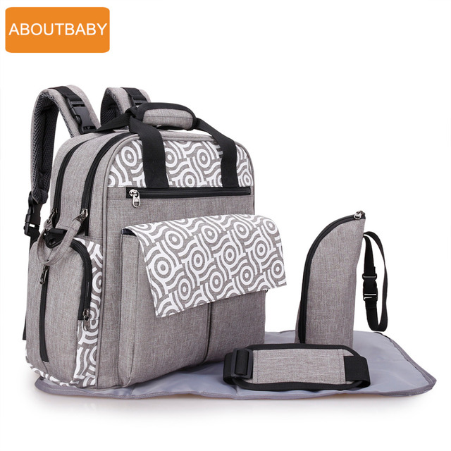 dcadfab33d17 Designer mother baby diaper bag backpack bags waterproof changing mummy  maternity nappy bag for stroller accessories organizer