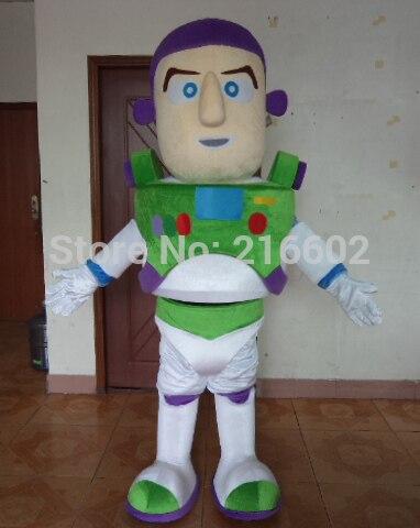 Costume cosplay de haute qualité tout nouveau Buzz Lightyear Costume mascotte Costume taille adulte avec livraison gratuite