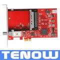 Frete Grátis! TBS6528 Multi Padrão de Tv Tuner CI Cartão PCI-e DVB-S2/S, DVB-T2/T, DVB-C2/C, DVB-S2X e ISDB-T