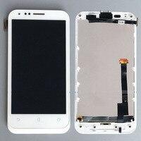 לבן זכוכית תצוגת LCD מסך מגע Digitizer עצרת + מסגרת לasus A68 PadFone חדש