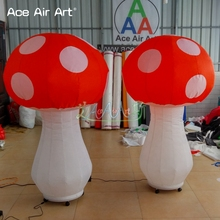 1.5 High Cheap Beautiful Big Balloon Inflatable Mushroom for Decoration