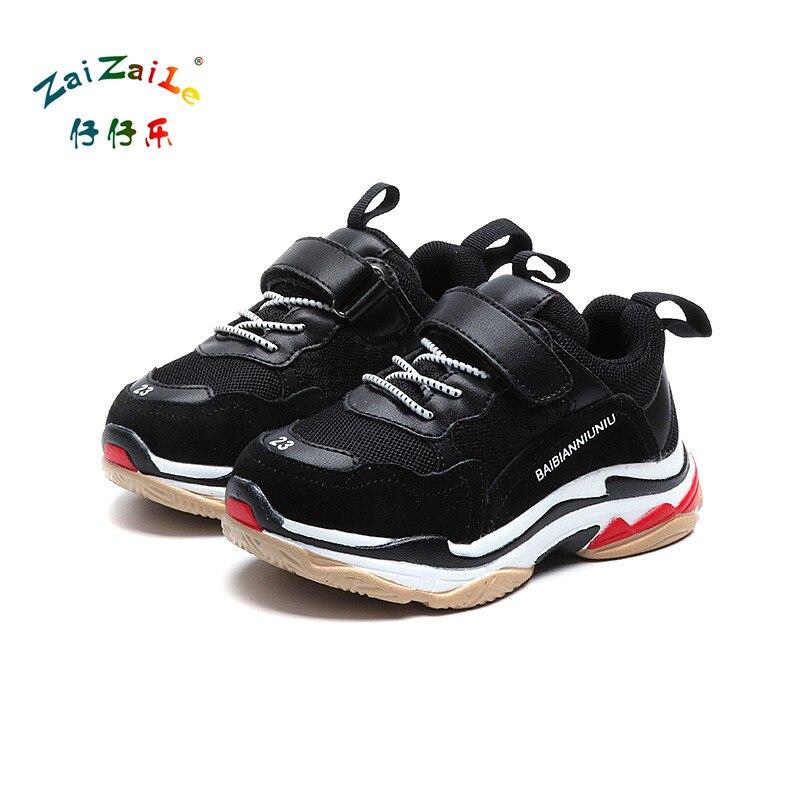 Zaizaile 2018 Spring Baby Boy Fashion Sport Sneaker Dzieci Mesh - Obuwie dziecięce - Zdjęcie 2