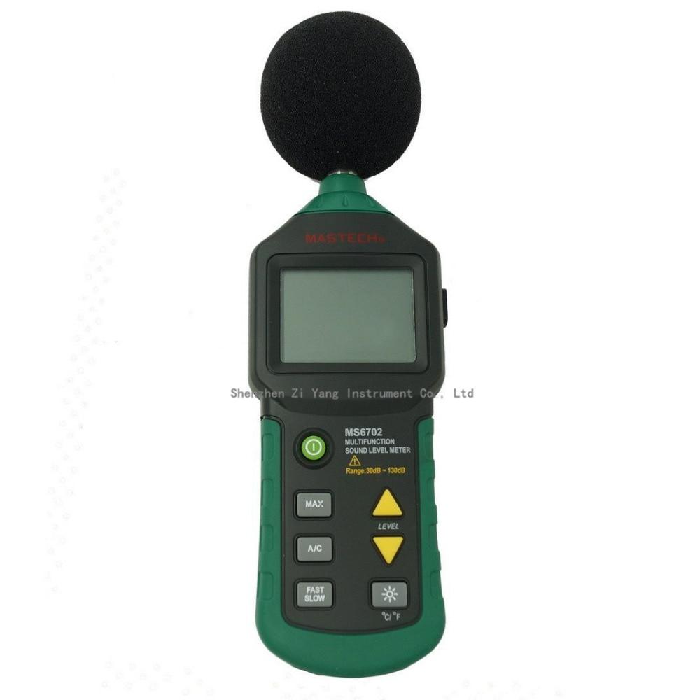 MS6702 Autorange Digital Sound Level Meter 30dB~130dB Thermometer Meter Hygrometer MeterMS6702 Autorange Digital Sound Level Meter 30dB~130dB Thermometer Meter Hygrometer Meter