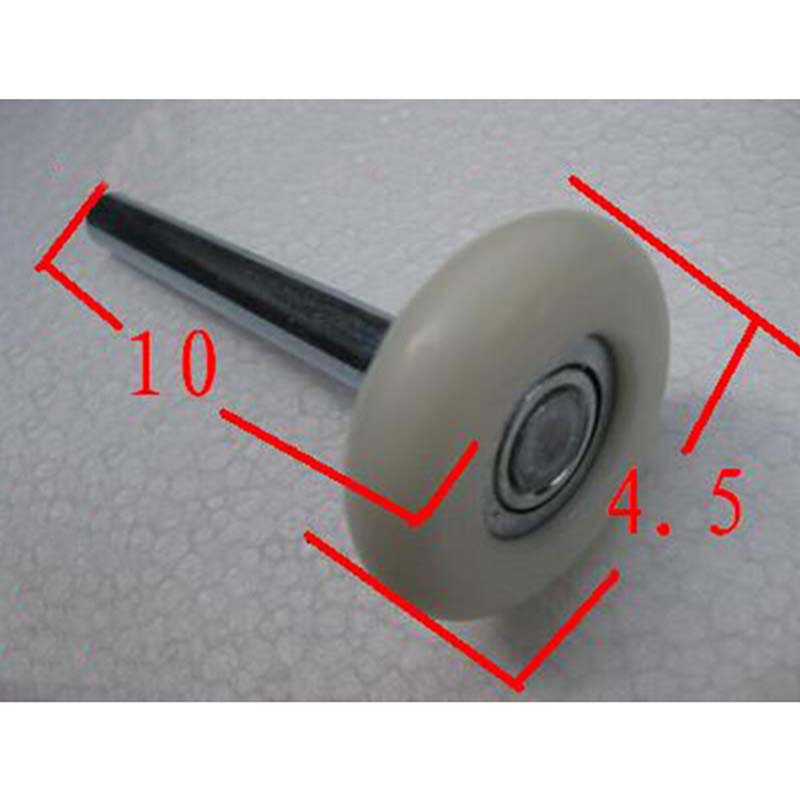 Free Shipping garage door pulley wheel nylon wheel tipping pulley 10*1 cm KF652 ...
