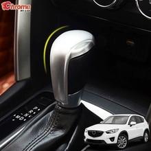 Dành Cho Xe Mazda CX 5 CX5 Kế 2012 2013 2014 2015 2016 Chrome Gear Dịch Chuyển Đầu Bao Viền Tay Cầm Điều Khiển Núm Vặn Nắp trang Trí Xe Ô Tô Tạo Kiểu