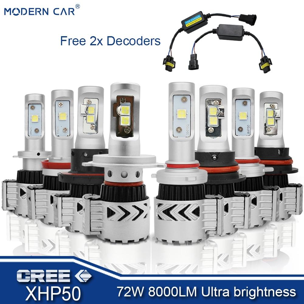 2Pcs H7 3030 12V LED 8000K bombillas diurna Foglight Azul Hielo para Volvo Opel VW