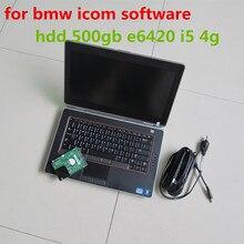 2017.07 for bmw icom software with laptop e6420 i5 4g hdd 500gb ista expert mode works for icom a2 a3 next windows 7 super