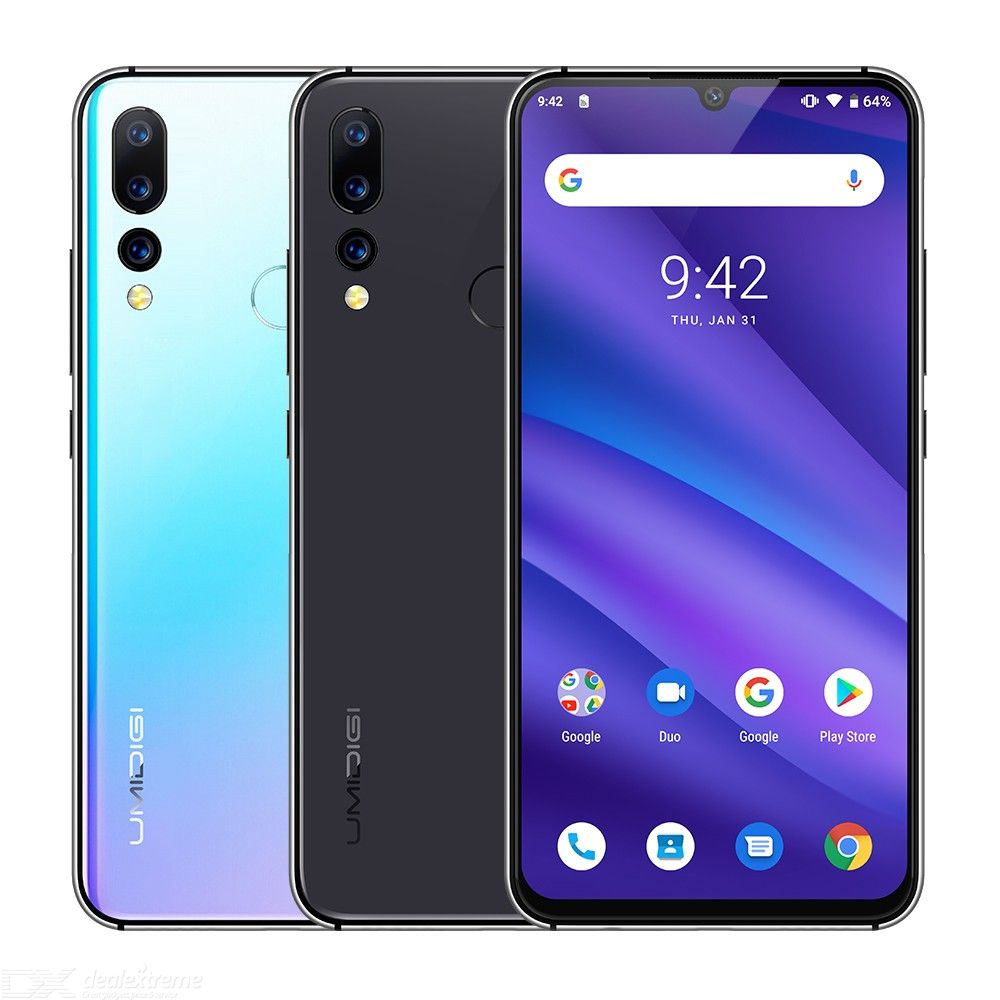 UMIDIGI A5 PRO Android 9.0 Octa Core 32GB 6.3' FHD+ Waterdrop 4GB RAM
