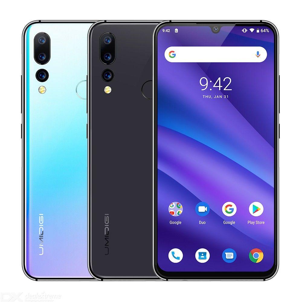 UMIDIGI A5 PRO Android 9.0 Octa Core 32 GB 6.3 'FHD + Waterdrop 16MP Triple caméra double 4G 4150 mAh 4 GB RAM 4G celulaire Smartphone