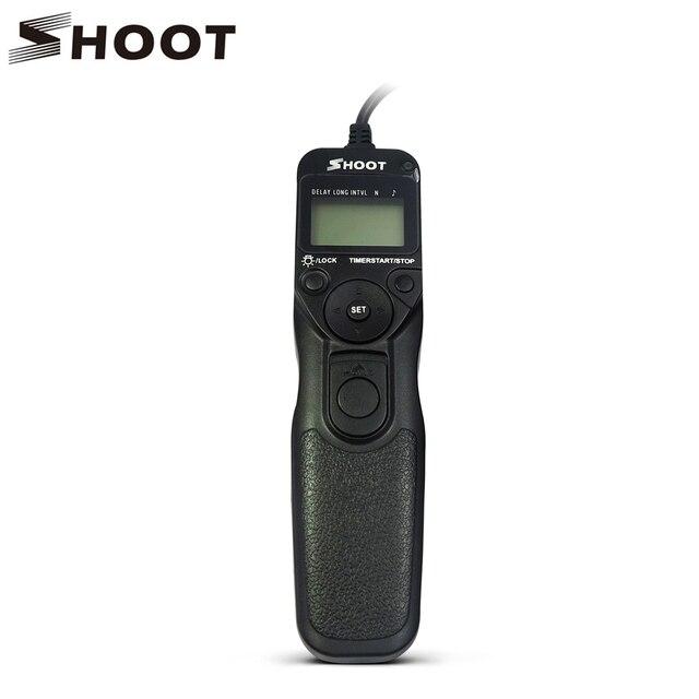 Dispara mc-dc2 temporizador disparador remoto para nikon d3100 d7000 d90 D610 D600 D3200 D3300 D5300 D5200 D5100 D5000 Digital SLR cámaras