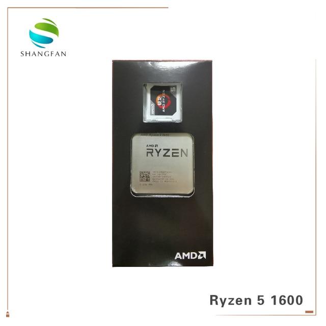 AMD Ryzen 5 1600 R5 1600 3,2 ГГц шестиядерный процессор с 12 резьбой 65 Вт Процессор YD1600BBM6IAE разъем AM4