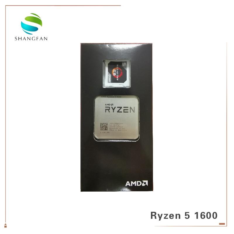 AMD Ryzen 5 1600 R5 1600 3.2 GHz Six Core Twelve Thread 65W CPU Processor YD1600BBM6IAE Socket AM4-in CPUs from Computer & Office