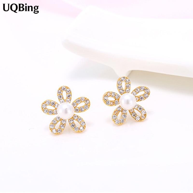 1 pares de pendientes de perlas pendientes 8mm señora libre selector de color