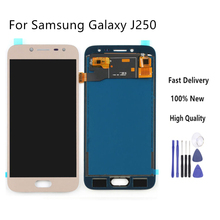 For Samsung Galaxy J2 pro 2018 J250 J250F LCD Display Touch Screen Digitizer Assembly Lcd Display Adjust Brightness+Tools lcd for samsung galaxy j2 pro 2018 j250 j250f sm j250f ds lcd display touch screen digitizer assembly replacement