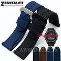 26mm For Garmin Fenix 3 Waterproof silicone rubber Watchband  Strap 24mm For PAM111 Wristwatch accessories  Watch Band