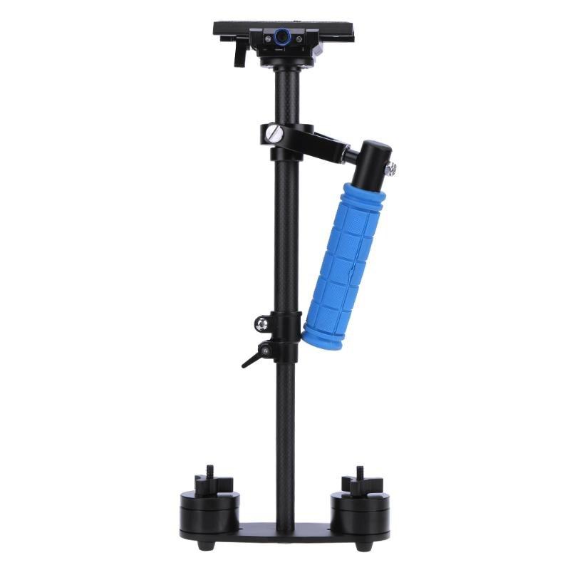 Pour stabilisateur de caméra professionnel 360 degrés de tir stabilisateur de poche en Fiber de carbone Steadicam pour enregistreur DV appareil photo DSLR