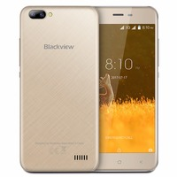 Blackview A7 Smartphone 5 0 Inch MT6580A Quad Core Android 7 0 Dual Rear Cameras 1GB