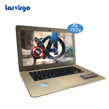 14 inch Expandable hard drive 8G RAM 750G HDD laptop Intel Celeron J1900 2.0GHz computer windows 10 system built in camera