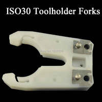 1ISO30 Tool Holder Clamp Iron ABS Flame Proof Rubber ISO30 Tool Holder Claw CNC Tool Change