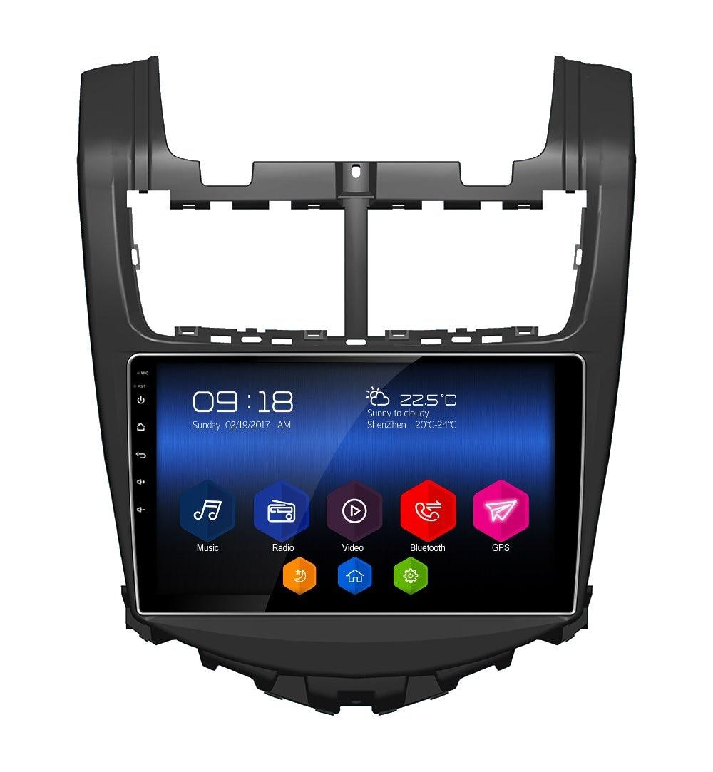 otojeta hd big screen car DVD player headunit tape recorder android 6.0 gps navi for Chevrolet Aveo 2013 radio stereo multimedia