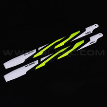 ALZRC 380 – Carbon Fiber Blades – 380mm – Painting – Yellow For ALZRC380 Align SAB Goblin 380