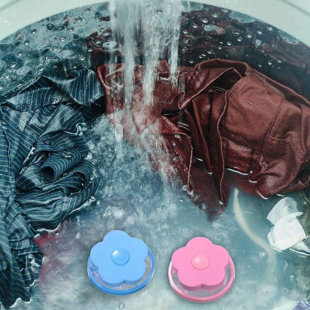 4 шт./упак. плавающий Pet меха Catcher фильтрации удаления волос устройства шерсть моющие средства шайба Стиль Прачечная Чистящая сетка сумка