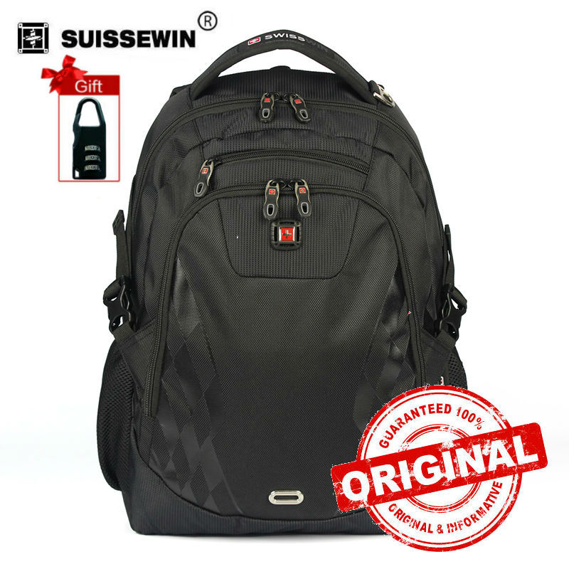 brand Business Nylon backpack Black Female Male Military 14 15 inch Computer Bag case luxury boy bag Mochila sac a dos SW6014V аккумулятор yoobao yb 6014 10400mah green