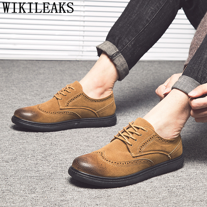 suede   casual shoes men elevator shoes for men brogues man shoes   leather   mocasines hombre vestidos verano 2019 vestidos formales
