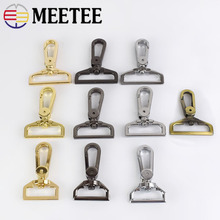 5Pcs 25/32/38mm Metal Bag Buckle Swivel Trigger Clips Buckles Dog Collar Key Chain Clasp Snap Hooks DIY Handbag Hardware E6-2